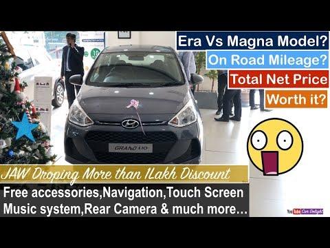 2017 Hyundai Grand i10 Era Base Vs Magna Model Interior,Exterior and Features Review