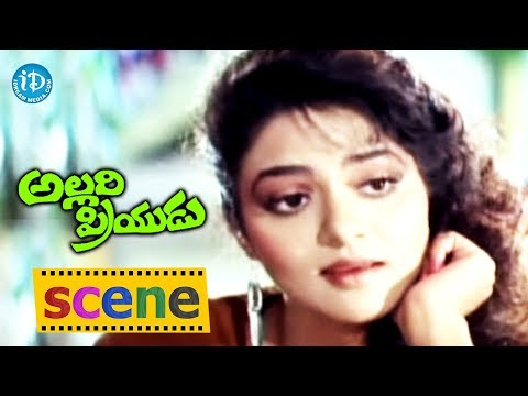 Allari Priyudu Movie – Rajasekhar And Madhubala's Love Scene | Ramya Krishna Photo Image Pic