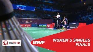 F | WS | TAI Tzu Ying (TPE) [1] vs Akane YAMAGUCHI (JPN) [2] | BWF 2018