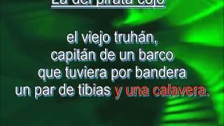 La del pirata cojo de Joaquín Sabina
