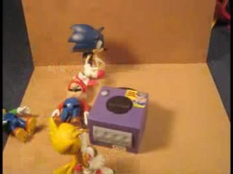 Sonic and Tails vs. Mario and Luigi