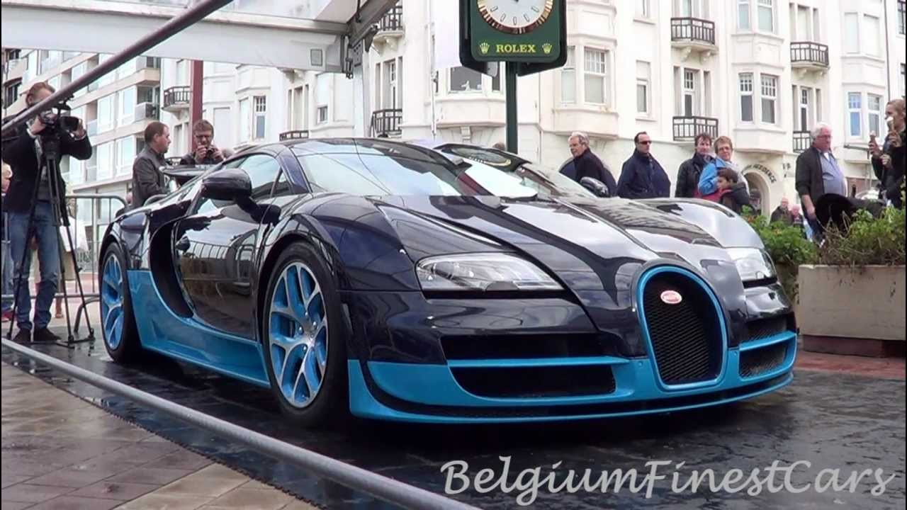 bugatti veyron grand sport vitesse start up furious revs and wing action. Black Bedroom Furniture Sets. Home Design Ideas