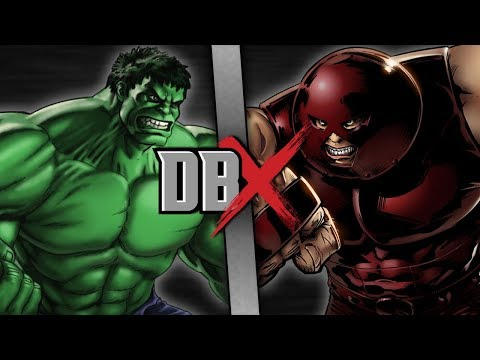 Hulk VS Juggernaut | DBX
