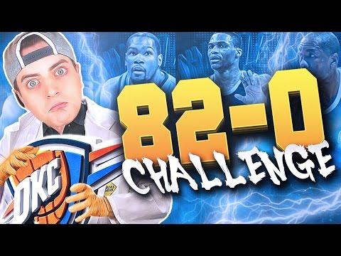 THE 82-0 CHALLENGE : Oklahoma City Thunder!! Is Kevin Durant Leaving?? NBA 2K16 MyLeague Rebuild!