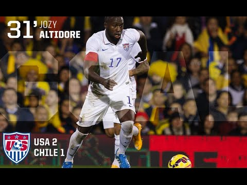 MNT vs. Chile: Jozy Altidore Goal - January 28, 2015