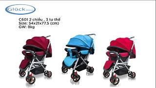 Hướng dẫn lắp ráp xe đẩy 2 chiều Glück Baby C601| Xe đẩy em bé mới