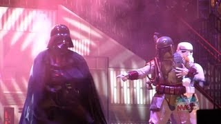 Darth Vader & Boba Fett dance to Michael Jackson