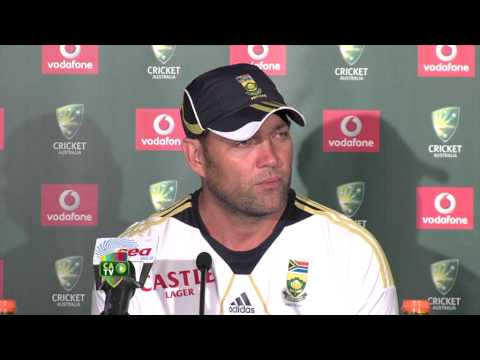 Jacques Kallis press conference - Nov 11th