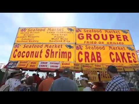 Drone, GoPro show sights and sounds of Shrimp Festival