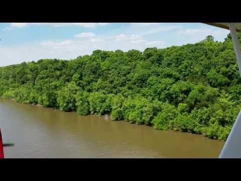 Composite Cub over Mississippi River