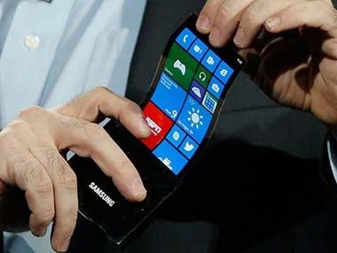 Samsung Keynote @ CES 2013 Youm flexible Displays OLED Display [HD]
