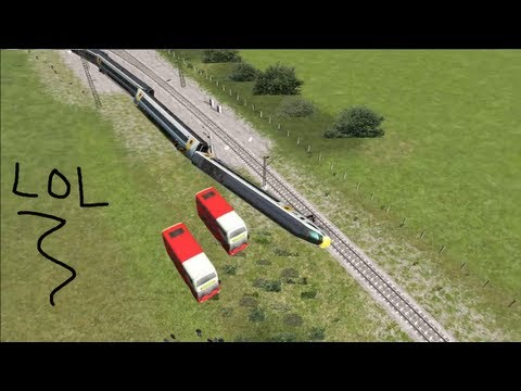 Seamus Plays Random Crap Part 1 - Train Simulator 2012