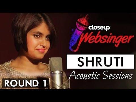 Sun Saathiya (Acoustic Cover Song) - ABCD 2 | Shruti Prakash | #CloseUpWebsinger