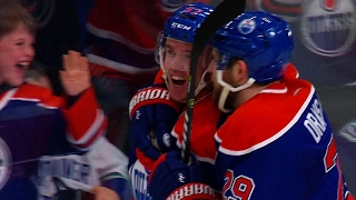 Gotta See It: Rogers Place erupts for McDavid's 100th point
