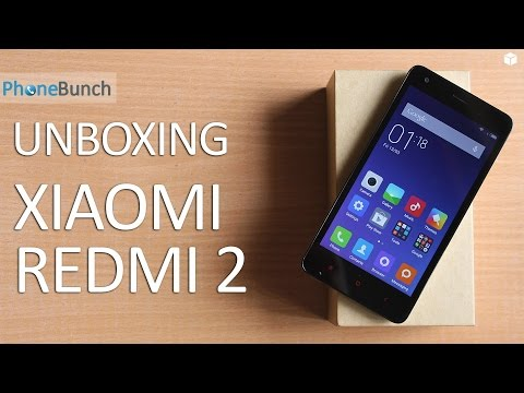 Xiaomi Redmi 2 India Unboxing and Quick Review