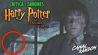 Errores de peliculas Harry Potter y la camara secreta Critica WTF PQC Harry Potter 2