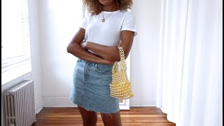 SUMMER BASICS THAT ARE WORTH IT!!  WHAT TO WEAR WHEN IT'S HOT!!