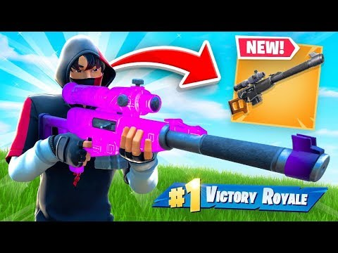 So Epic Added a MACHINE GUN SNIPER to Fortnite...