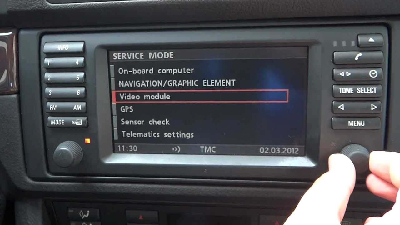 Bmw 5 Series E39 16 9 Screen Mk3 How To Access The
