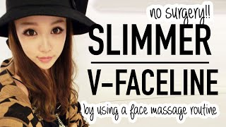 Asian Facial Massage Tutorial ♥ Use a spoon for a slimmer face and glowing skin ♥ Wengie