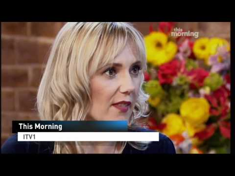 Samantha Brick talks on TV about being beautiful