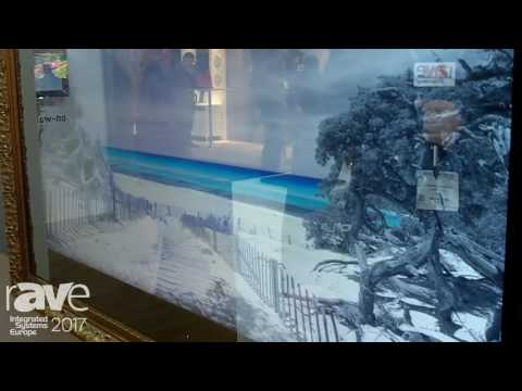 ISE 2017: AGATH Highlights 4k In Wall Mirror TV