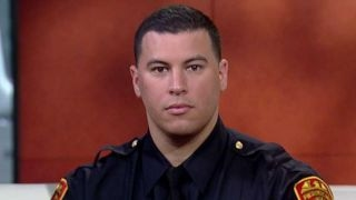 Double-amputee Marine veteran to become police officer