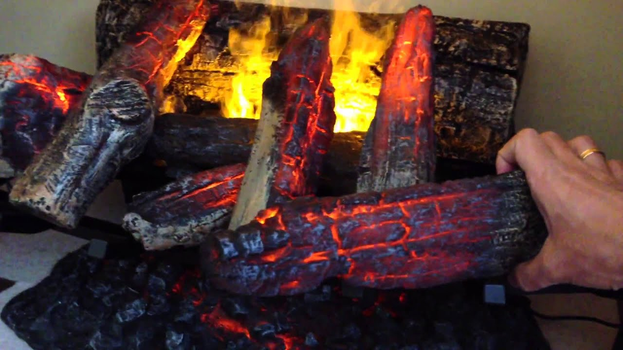 Живой огонь в камине своими руками