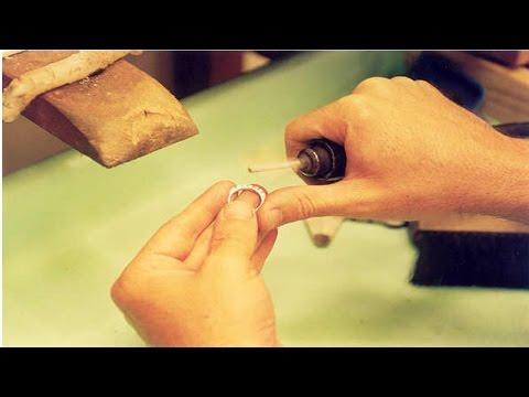 Curso de Ourives - Como Fazer - Meia Aliança Tradicional