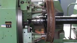 RAFAMET Abovefloor Wheel Lathe