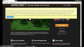 *2012* HOW TO INSTALL MINECRAFT FOR FREE (offline mode)