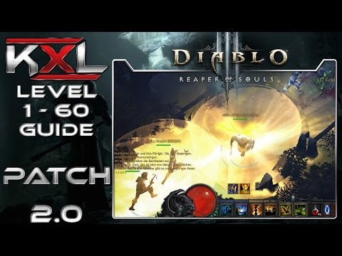 Diablo 3 - Patch 2.0 - Level 1-60 in 30 Minuten [Deutsch][HD+] ➥ Let's Guide