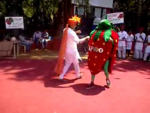 Mapro Strawberry festival , Strawberry Dance