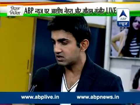 ABP Newsroom special: Ashish Nehra and Gautam Gambhir talk about India's victory over Bangladesh
