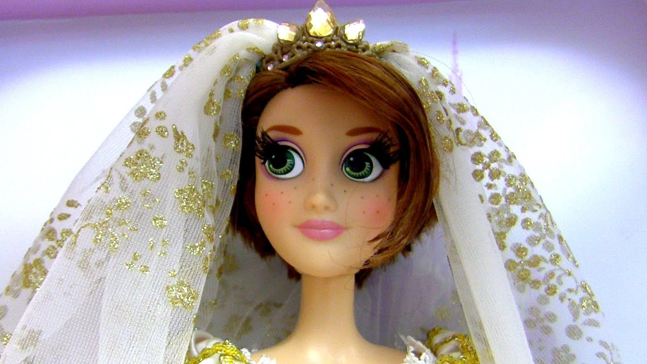 Limited Edition Rapunzel Wedding Doll Tangled Ever After Disneystore Disney