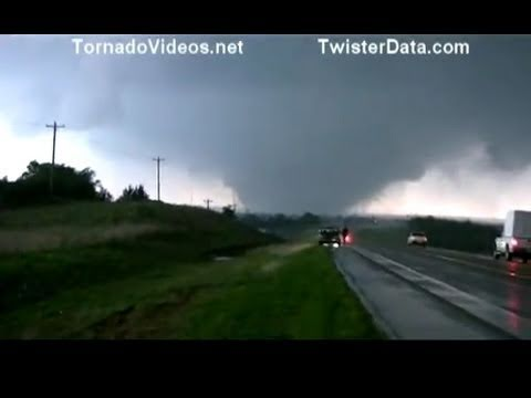 Huge Ef 5 Wedge Tornado Near El Reno Oklahoma May