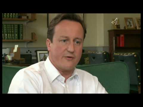 David Cameron losing the plot in Gay Times interview.mpg