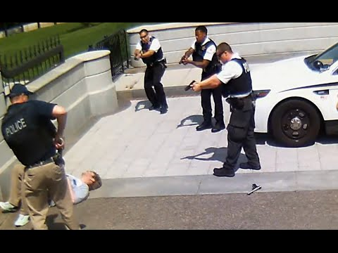 White House Shooting | Secret Service Shoot Gun-wielding Man [CAUGHT ON TAPE]