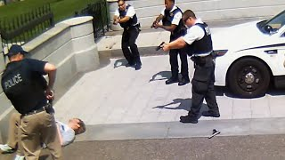 White House Shooting   Secret Service Shoot Gun-wielding Man [CAUGHT ON TAPE]