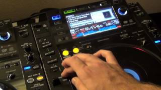 Pioneer CDJ-2000 Tutorial 5: Setting Loops as Hot Cues