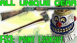 Fallout 3: Point Lookout - Unique Armor & Weapons Guide (DLC)
