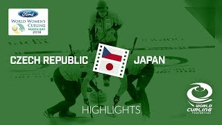 HIGHLIGHTS: Czech Republic v Japan – Round-robin – Ford World Women's Curling Championship 2018