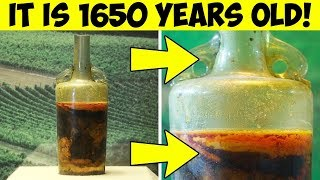 The Oldest Bottle of Wine in the World