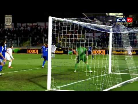 Exclusive Pitchside highlights, San Marino vs England 0-8