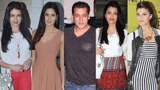 Salman Khan's Leading Ladies | Aishwarya Rai, Katrina Kaif, Jacqueline Fernandez, Bhagyashree