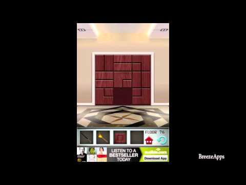 ‪100 Floors Level 76 Walkthrough (100 Floors Solution Floor 76 iphone, ipad)‬