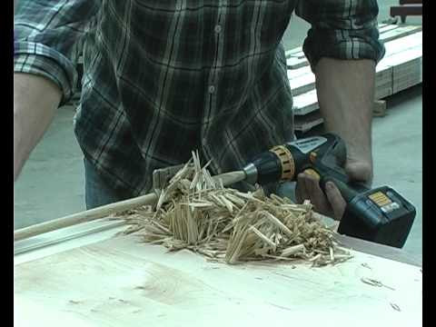Using the Veritas Dowel and Tenon Cutter