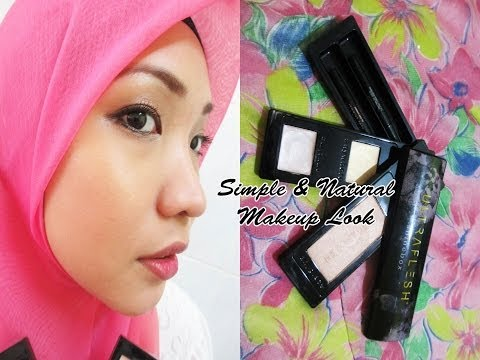 Simple & Natural Makeup Look/Mekap Simple dan Natural