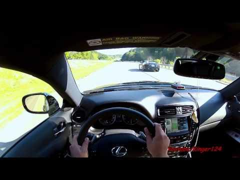 POV: Lexus IS-F ( Chasing Lexus LFA )