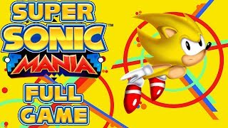 Super Sonic Mania - Full Game as Super Sonic